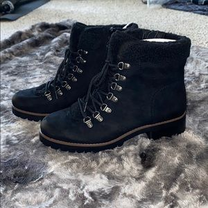 Crown Vintage combat boot